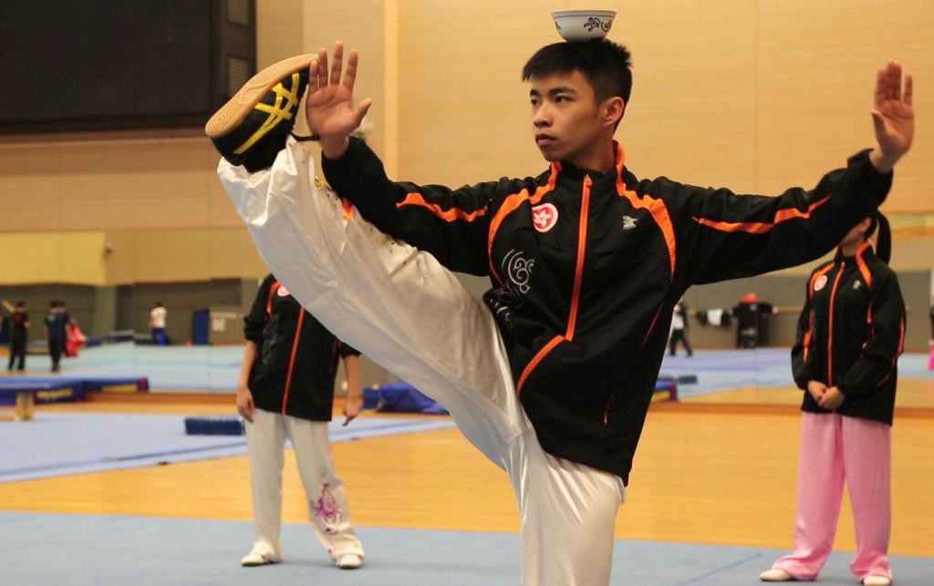 taiji tai chi champion Zhuang Jiahong Hong Kong Wushu Team