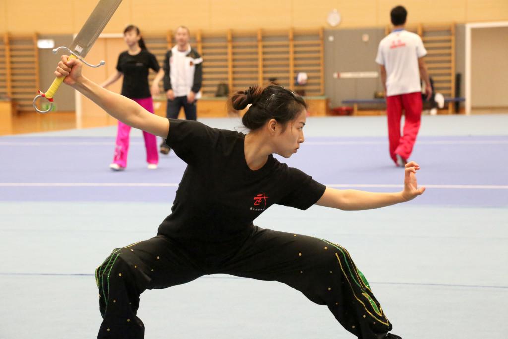 Nanquan athlete Hong Kong Wushu Team