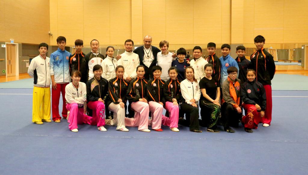 hong wushu team group
