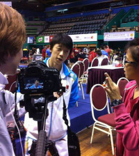 interviewing wang xi